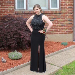 Sherri Hill 2 Piece Prom Gown